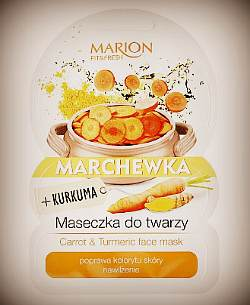 Marion Fit & Fresh Carrot & Turmeric Face Mask