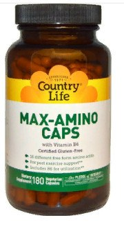 Country Life, Max-Amino в капсулах