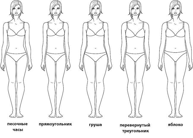 Особенности женской фигуры