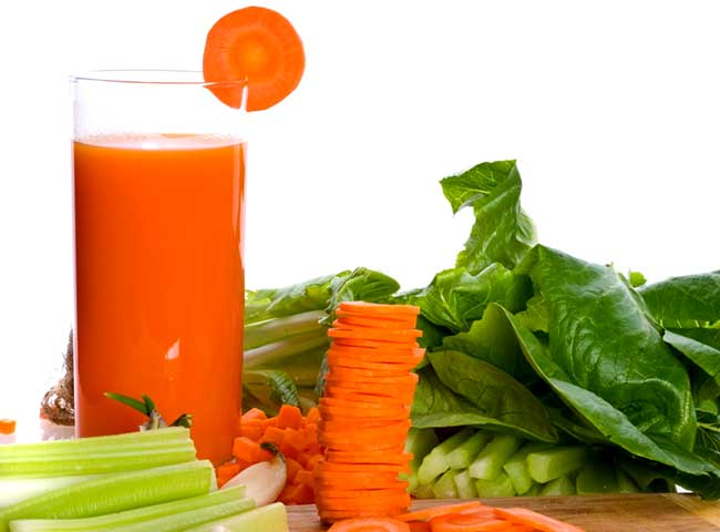 Овощные соки - свойства