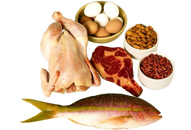 Продукты, которые содержат полноценный белок (протеин)