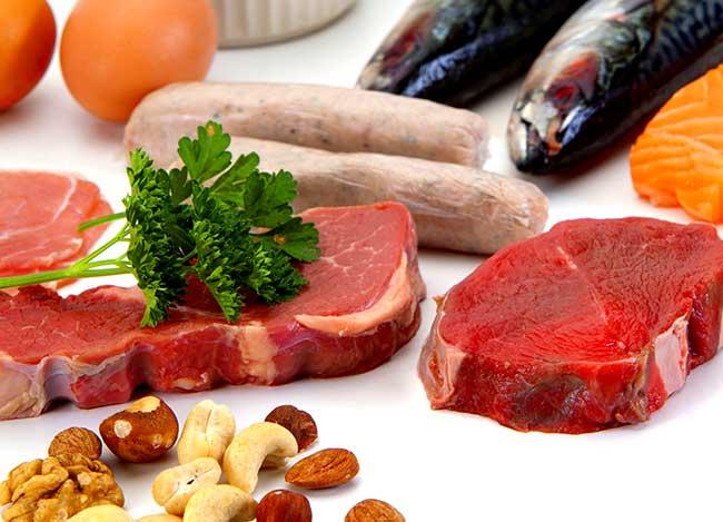 Продукты - содержащие белок