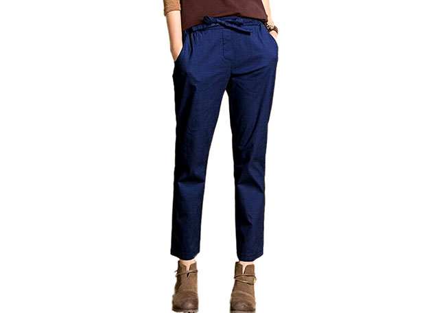женские брюки-капри фото