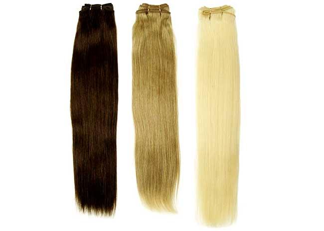 накладные волосы - цвета