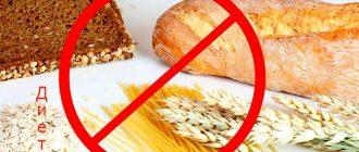 безглютеновая диета это что такое
