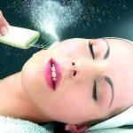 Криомассаж кожи лица жидким азотом