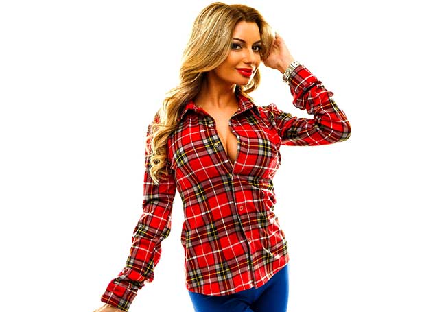 c5f9a2cedbf Женская рубашка в клетку - где купить и с чем носить 👚