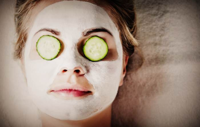 Как в домашних условиях сделать огуречную маску для лица
