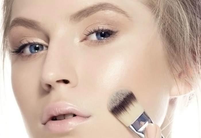 Тональная основа под вечерний макияж