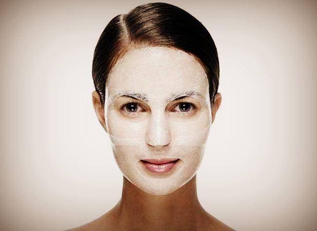 Гидрогелевая омолаживающая маска для лица