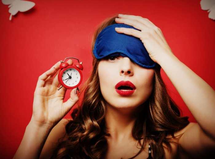 Применение маски для сна