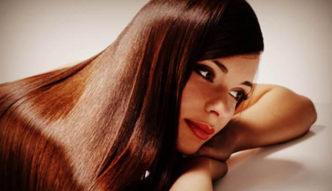 Длинные ухоженные волосы