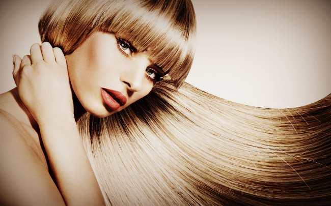 Красивые волосы после мытья