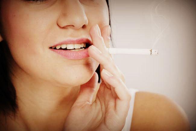Вред курения для кожи лица