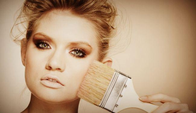 Грязные кисти для макияжа