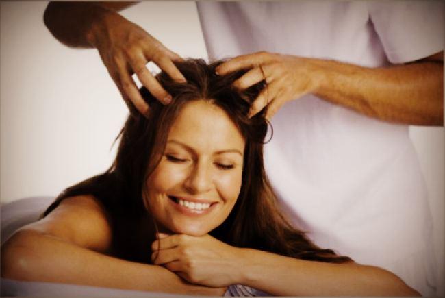 Массаж для роста волос