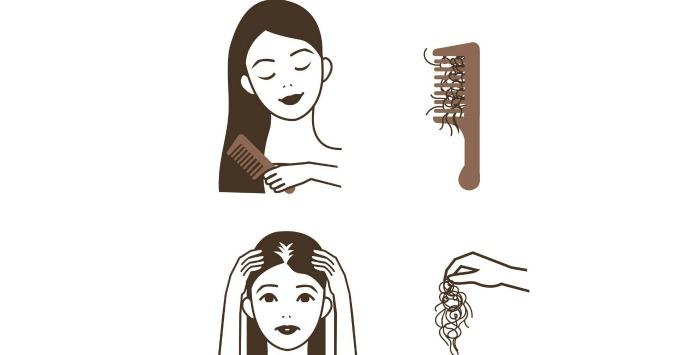 От чего выпадают волосы на голове