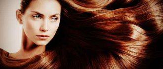 Ухоженный длинный волос