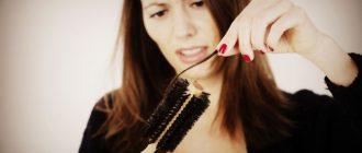 Выпадение волос у женщин после 50 лет