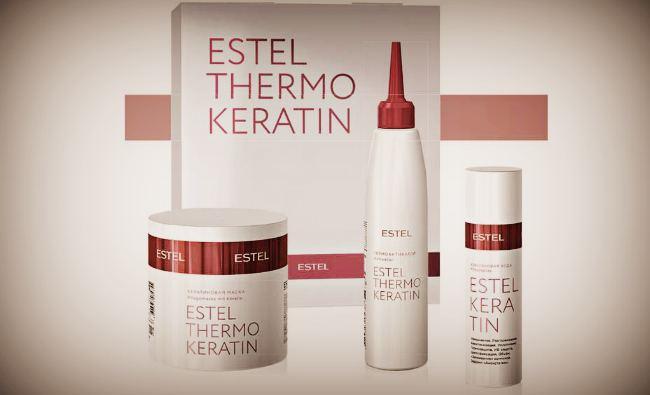 """""""Estel Keratin"""" - набор для восстановления волос"""