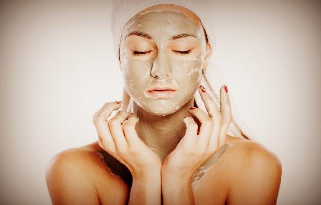 Маски для лица из косметической грязи