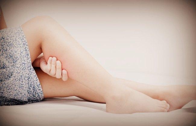 Судорога икроножной мышцы