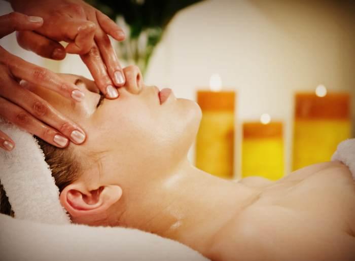 Льняное масло для массажа лица