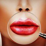 Увеличение губ с помощью макияжа