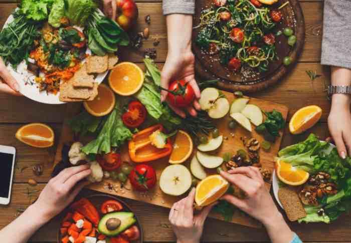 Продукты употребляемые в пищу при веганстве