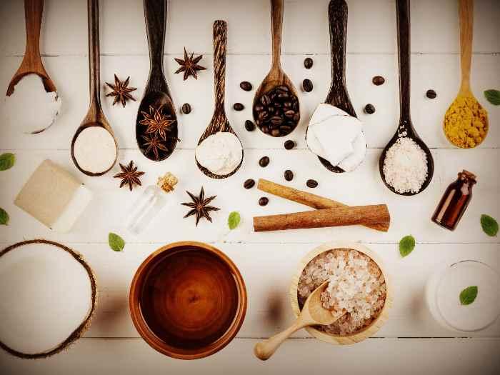 Ингредиенты для масок при ухаживание за волосами