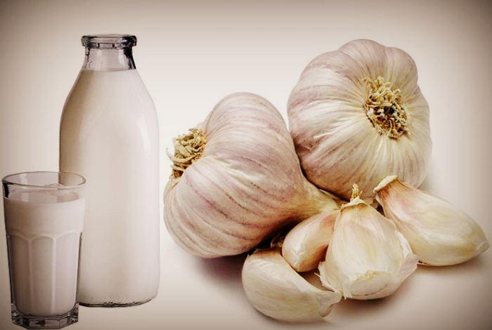 Молоко и чеснок от гипертонии