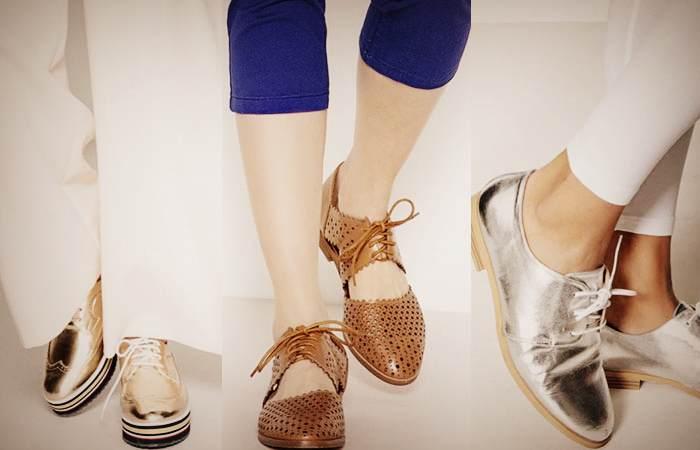 Виды женских моделей туфлей дерби