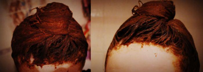Осветляющая маска для волос с корицей и мёдом