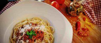 Спагетти - медленные углеводы для организма