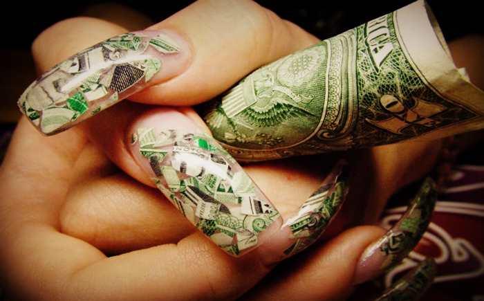 Долларовый маникюр