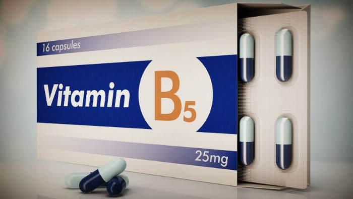 Витамин В5 в капсулах