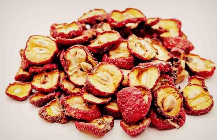 Сушёные плоды боярышника