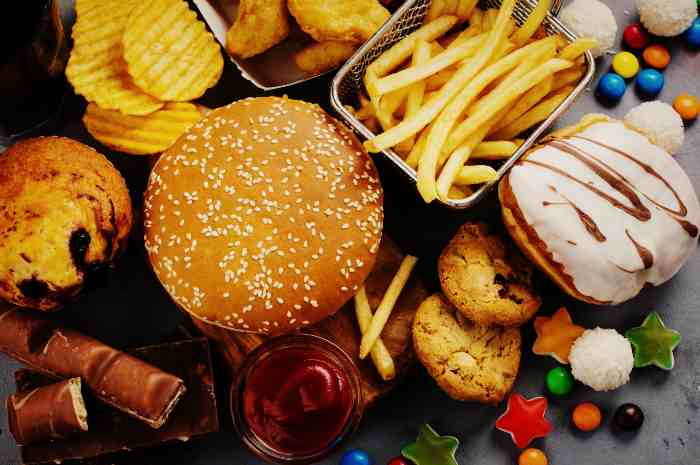 Запрещённые продукты питание при гастрите