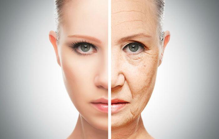 Появление морщин на лице женщины после 40 лет