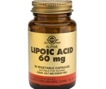 Биологически активная добавка SOLGAR Альфа-липоевая кислота капсулы №30