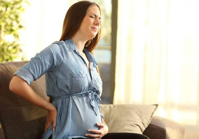 Боли в области поясницы у беременных