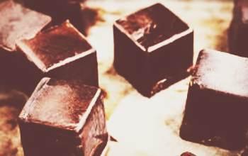 Кофейные кубики льда для лица