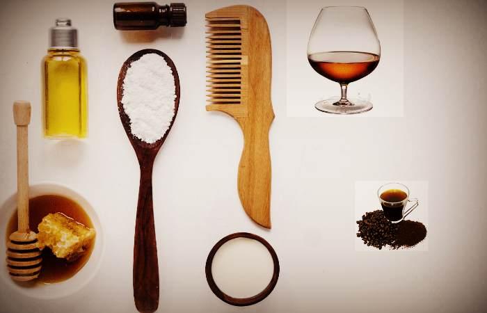 Рецепты и ингредиенты коньячной маски для волос