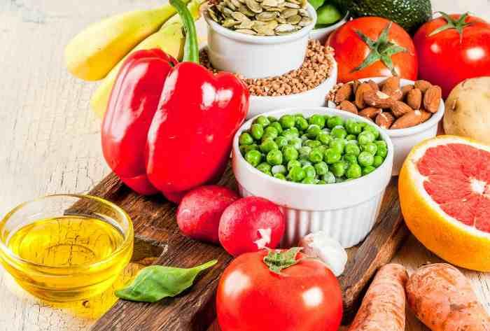 Продукты питания при щелочной диете