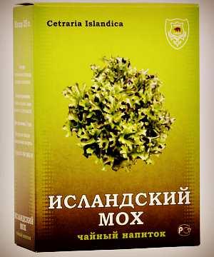 Чай из исландского мха от кашля