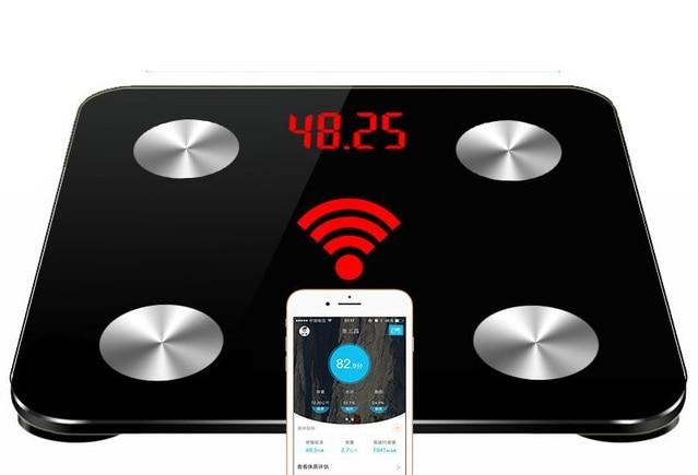 Горячие 25 данных тела бытовые умные весы для ванной взвешивания напольные весы электронные цифровые тела Жир Вес Ми весы PK Yunmai