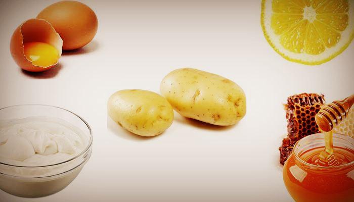 Ингредиенты для картофельной маски