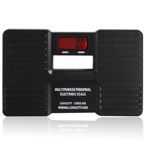 ЖК-дисплей цифровые электронные напольные весы на/тары Функция низкая Батарея сигнал тревоги тела Вес электронные весы напольные весы