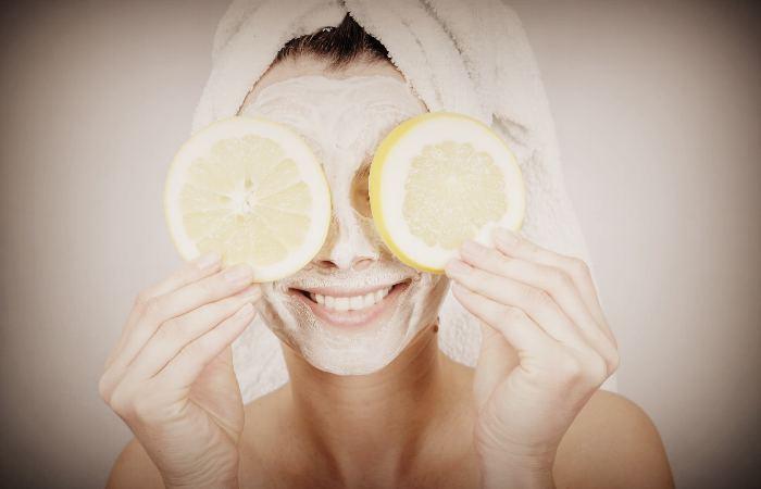 Маски с витамином С для проблемной кожи лица