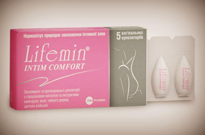Свечи при климаксе - Лайфемин, упаковка 5 шт.